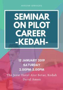 SEMINAR ON PILOT CAREER -KEDAH-